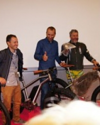 Press Conference S+ARCKBIKE with Moustache (2)