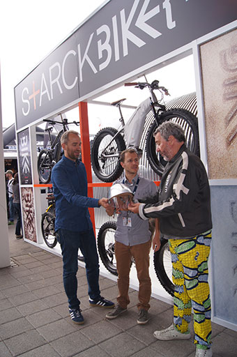 S+ARCKBIKE with Moustache at Eurobike (1)