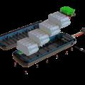 Bafang 43V battery design